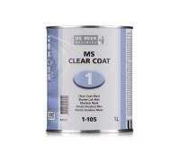 DeBeer 2K MS Clear Coat Matt lakk edzővel 1,5Liter