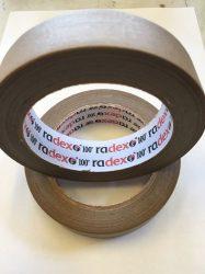 Radex papir ragasztószalag 25mmX50méter 100 fokig hőálló