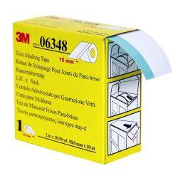 3M 06348 Szélvédő maszkoló szalag (gumiprofil kiemelő) 15mm