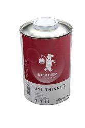 DeBeer 1-141 Univerzális gyors hígító (bázis,lakk,szórókitt) 1Liter