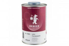 DeBeer 1-151 Univerzális normál hígító (bázis,lakk,szórókitt) 1Liter