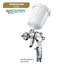 IWATA WS400 EVO CLEAR PRO fényezőpisztoly 1,3  VAGY 1,4mm-es dűznivel